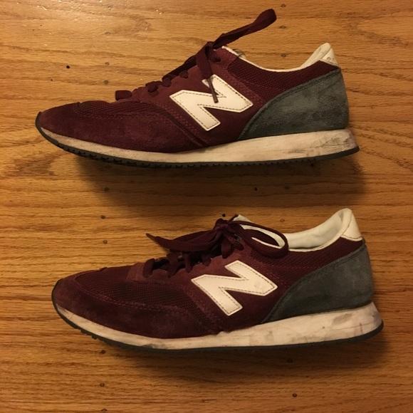 grand choix de 27da4 07582 New balance maroon sneakers